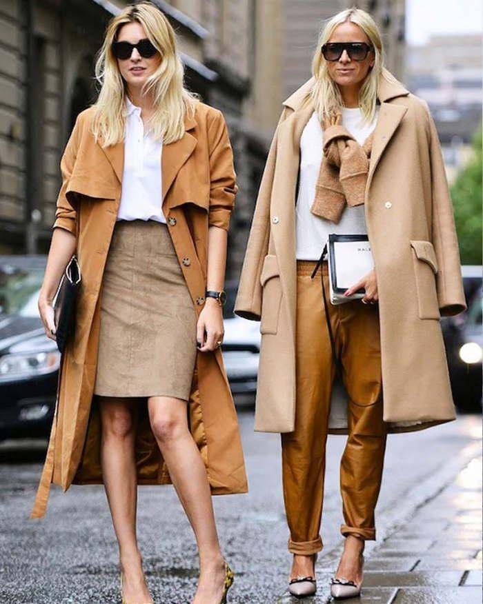 Бежевое пальто - универсальный предмет гардероба для женщин за 40