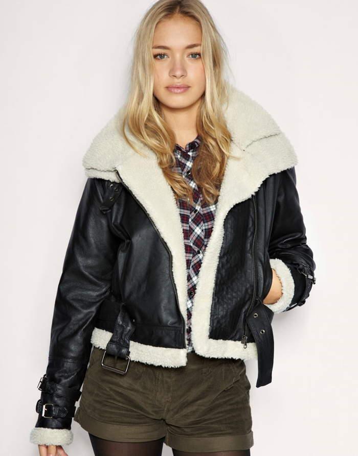 женская куртка-авиатор
