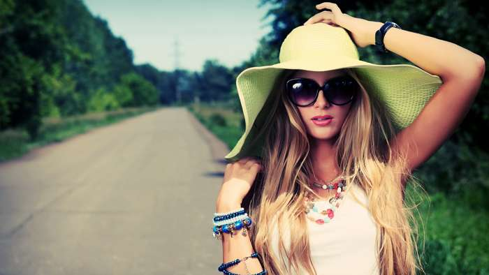 красивая шляпа для девушки