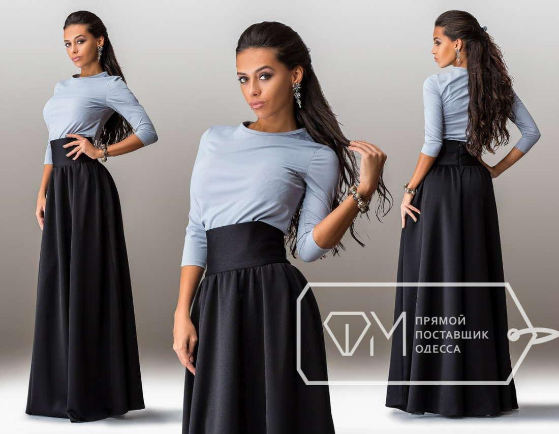 Длинная красивая юбка
