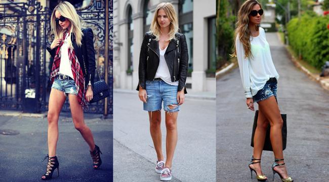 модные летние шорты джинсовые