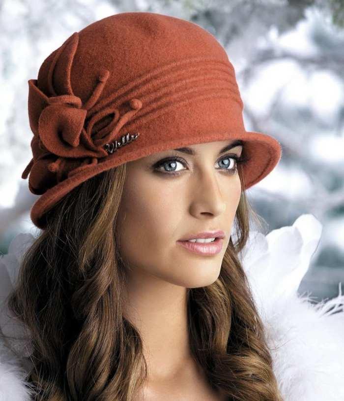 женская шляпа весна осень