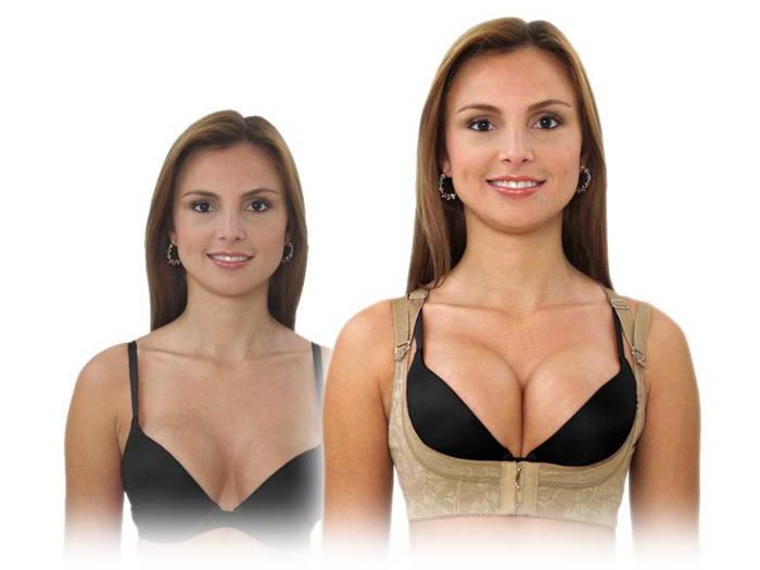 Утягивающее белье для груди