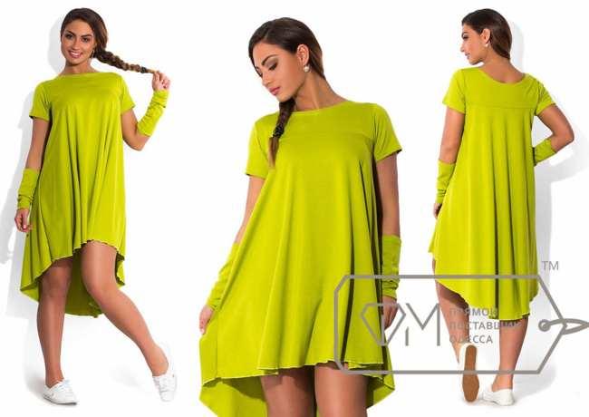 платье - туника с рукавами