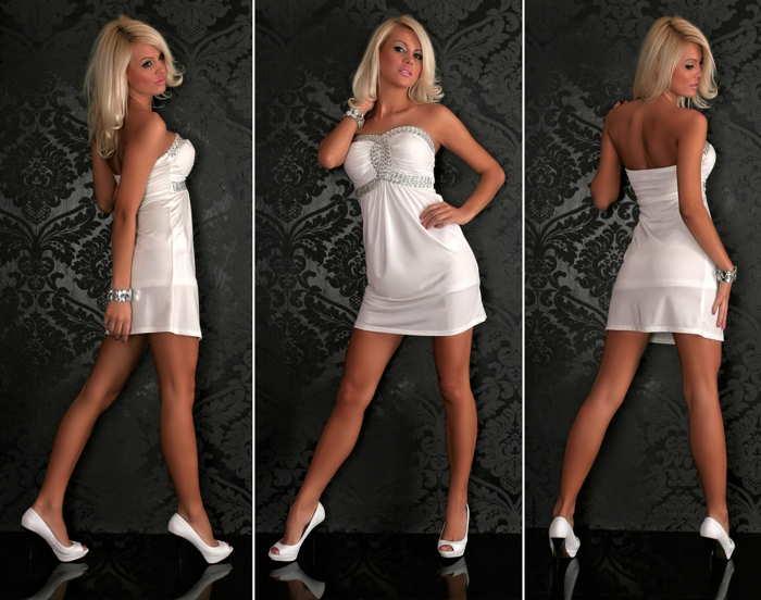 Пример красивого платья по фигуре