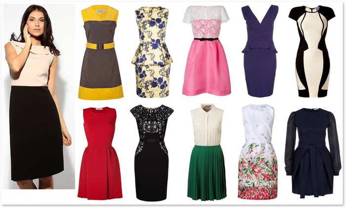 Как выбрать платье по типу фигуры прямоугольник