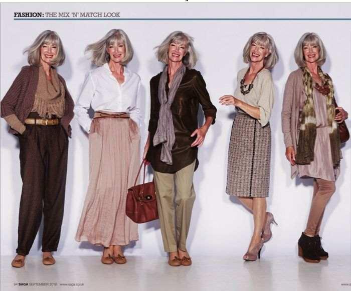 модная летняя одежда для женщин за 50 лет