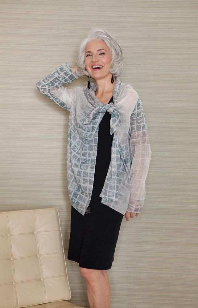 модная одежда для женщин за 50 лет - юбка