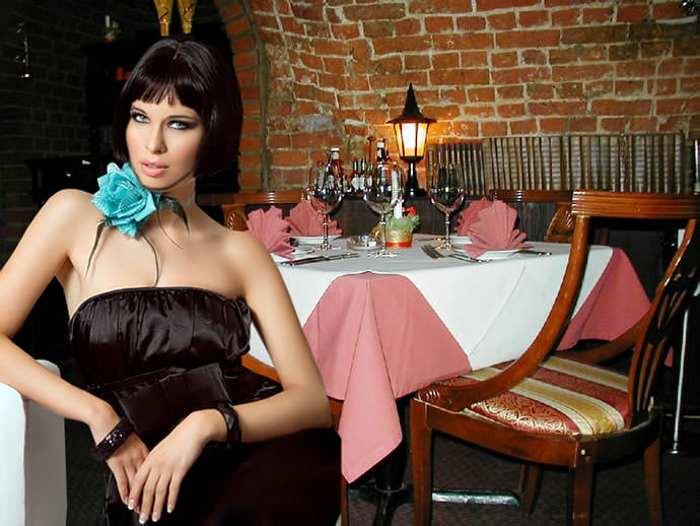 как одеться женщине в ресторан