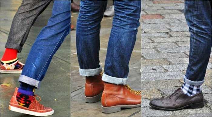 Как подворачивать мужские джинсы