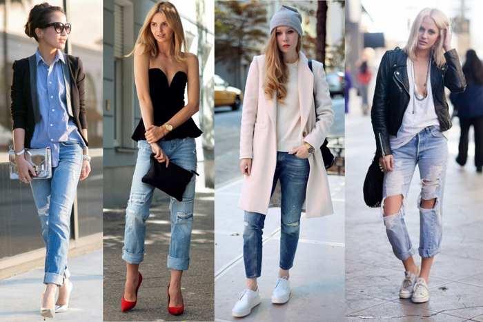 В 2016 году рваные джинсы в моде