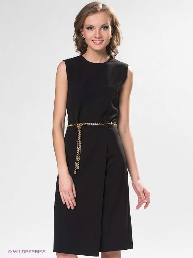 Черное платье в итальянском стиле