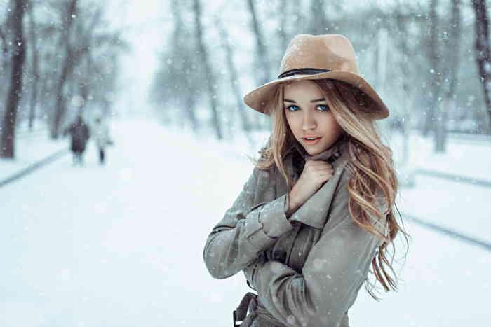 Выбор шляпы под пальто