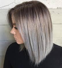 седые волосы модно