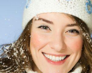 зимнее очищение кожи лица