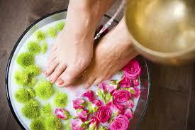 успокаивающие ванночки для ног